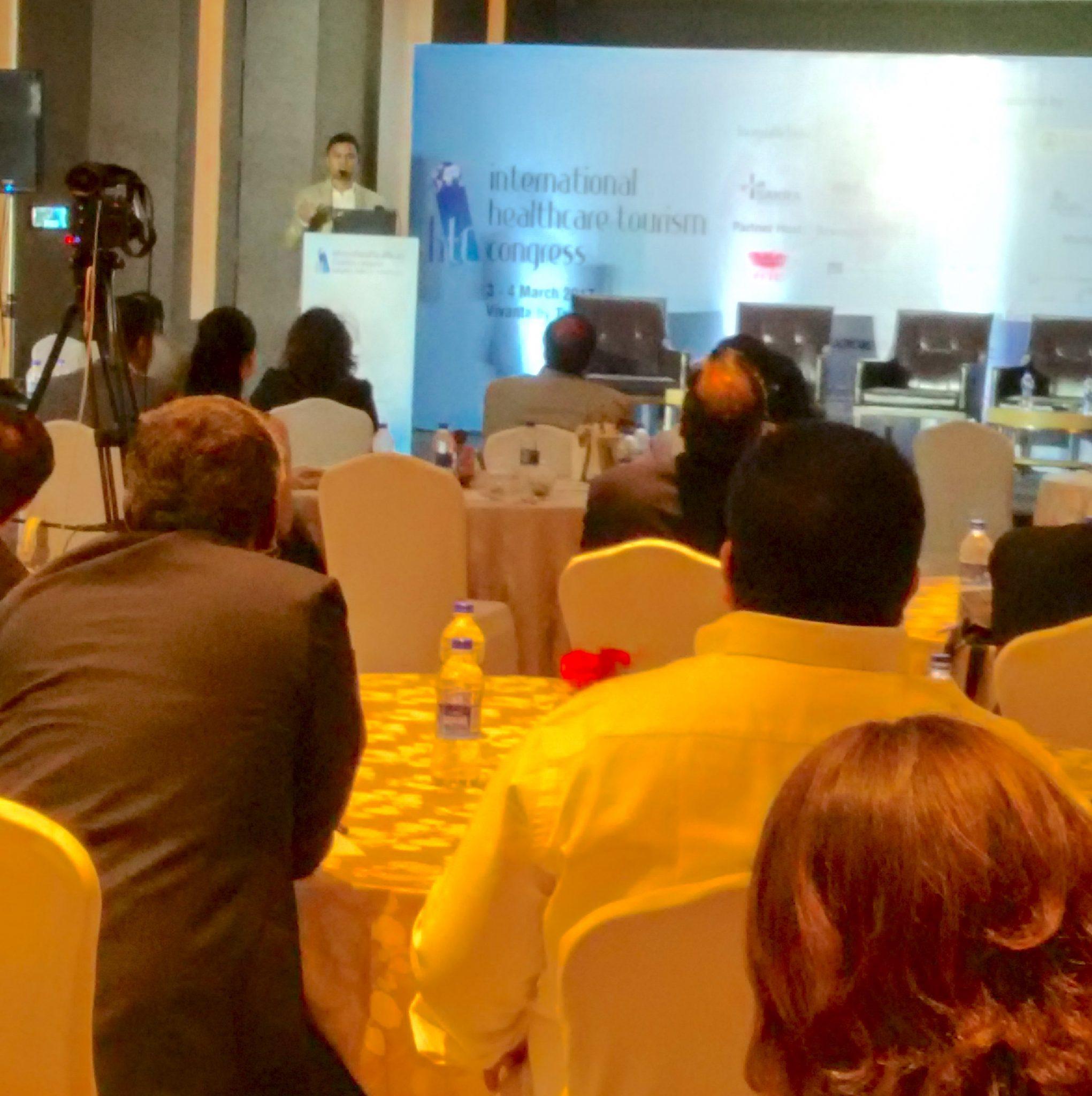 Amarantos at International Health Congress