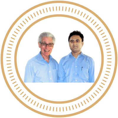 Dr. Brain Weiss and Dr. Venu Murthy Training